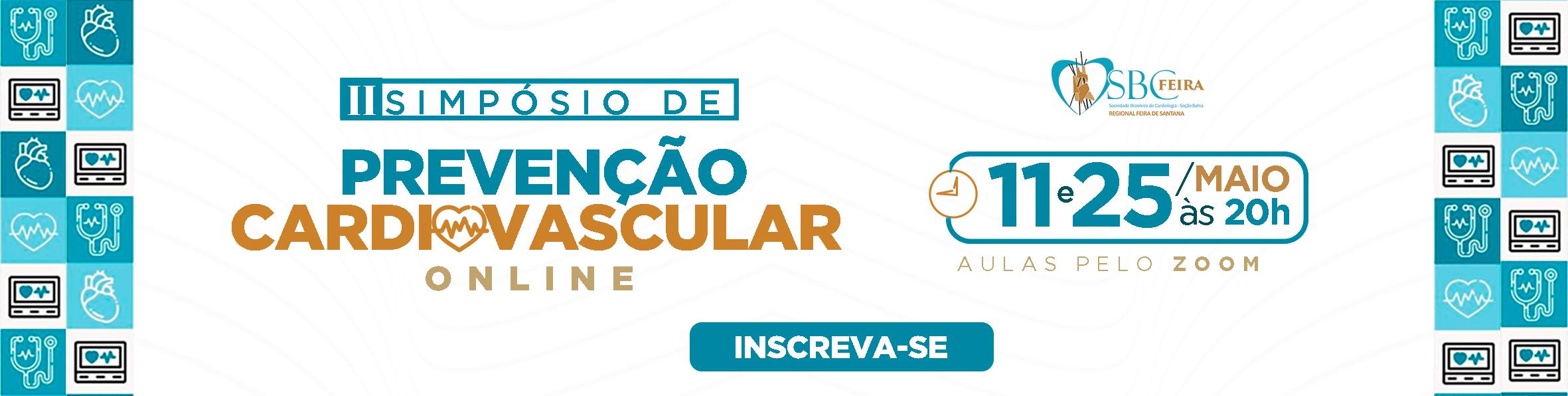 II SIMPÓSIO DE PREVENÇÃO CARDIOVASCULAR ONLINE